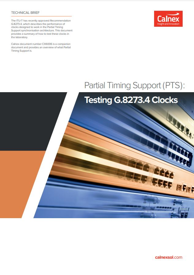 Partial Timing Support Testing
